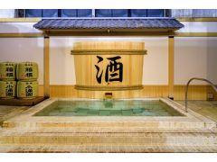 「ワイン風呂」や「本格コーヒー風呂」「酒風呂」といったアミューズメント感覚あふれるお風呂が盛りだくさんです。