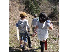友達と参加して、仲良く山を散歩
