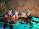 青の洞窟にも行けました。