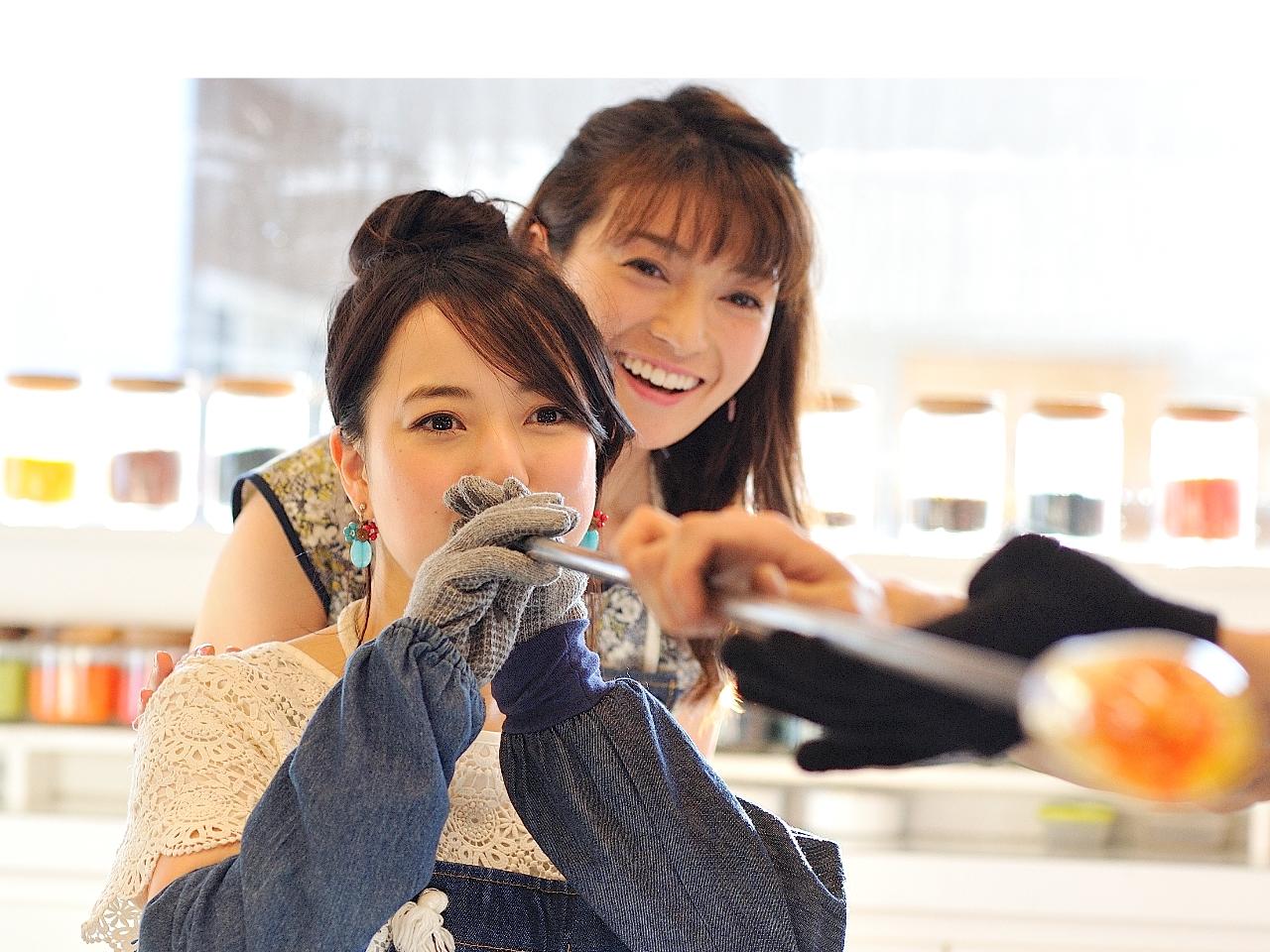 【伊豆高原・吹きガラス体験】ガラスをぷく~っと膨らませて作るコップ作り♪♪♪