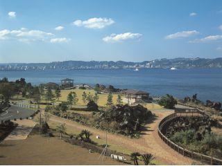 海側オーシャンビューの客室は鹿児島市街地が絶景♪