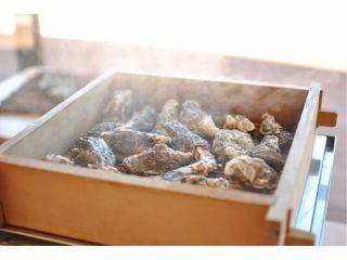 蒸し牡蠣食べ放題1