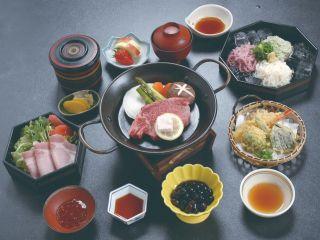 <黒田庄牛ヘレステーキ御膳>〜〜東条湖畔のお宿で安心の個室食〜〜