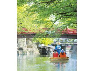 【4月25/26/29日・5月2日〜5日の土日祝のみ期間限定】水の都おおがきたらい舟〜午前の部〜