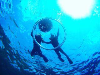 【沖縄・青の洞窟】1組貸切安心・安全のビーチシュノーケル写真・動画無制限無料プレゼント