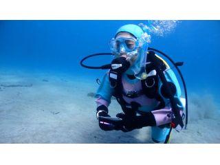 初めての体験ダイビングでも安心。PADIインストラクターがしっかりサポートしてくれます。