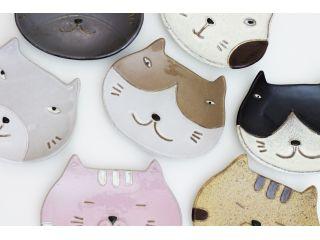 どのタイプのねこ皿にしましょうか?2枚作れます。