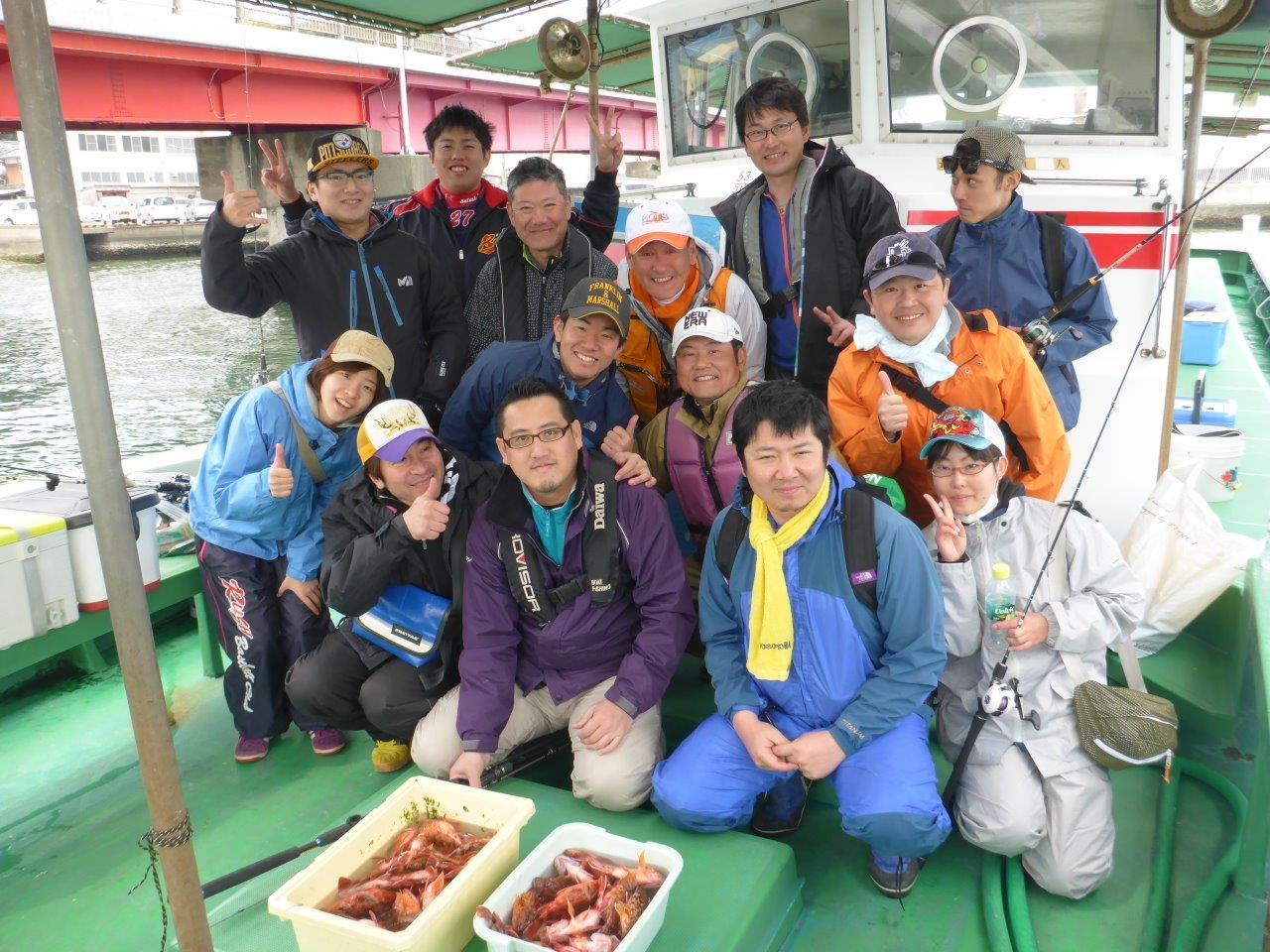 一隻まるごと貸切!中型船(26名定員)加太で釣り船体験