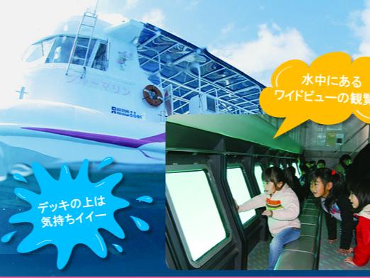 【1/1~4/30までの予約はこちら!!!】まるで海中散歩気分♪竹ヶ島湾を約40...