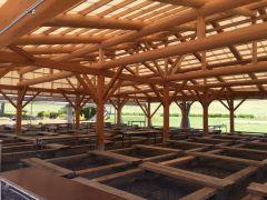 300名収容 大型屋根付きBBQハウス