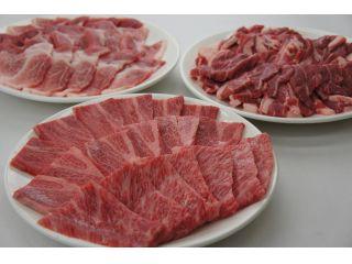 福島県産 牛・豚、生ラム よくばりコース