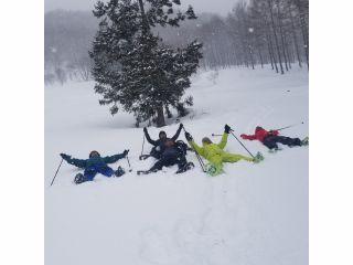 スノーシュー半日ツアー 雪の中を思いっきり歩こう!!【4〜6名ご予約はこちら】