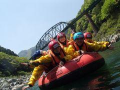 のんびりゆったり、ボートの上でも楽しめるよ~。勇気を出して、足も出して、ドキドキワクワク大冒険へ!