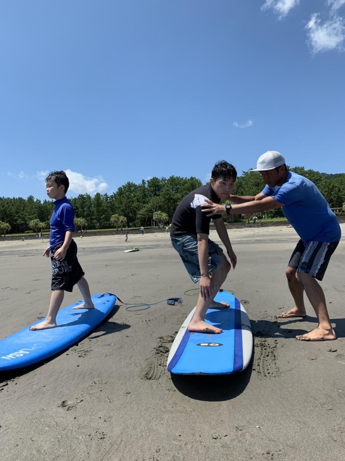 親子ペアで体験サーフィンスクール<90分>【NSA公認指導員が教えるサーフィンス...