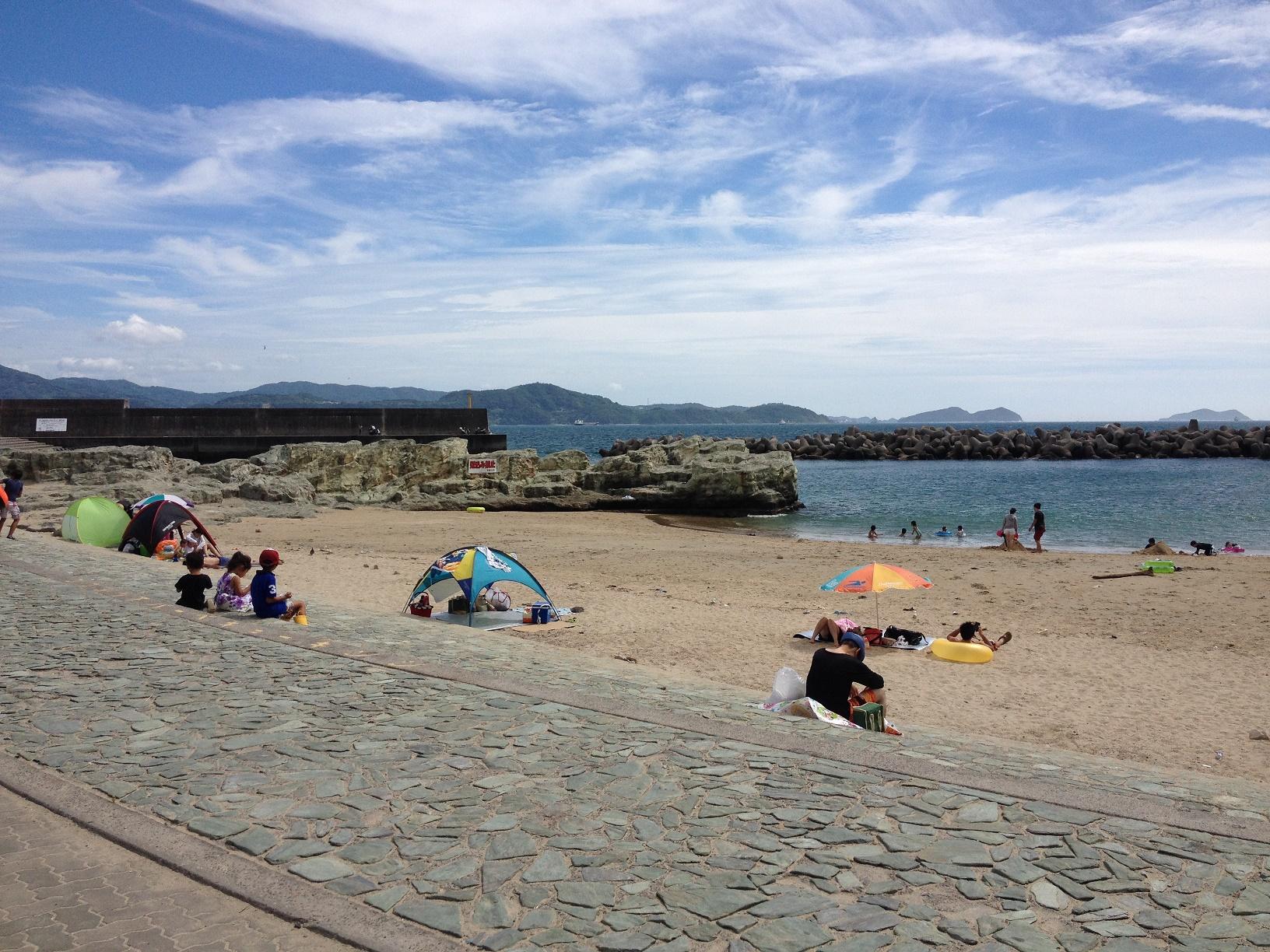 ■浪早(なみはや)ビーチ(有料)■ やっぱり夏はビーチで手ぶらBBQ~♪≪ファミ...