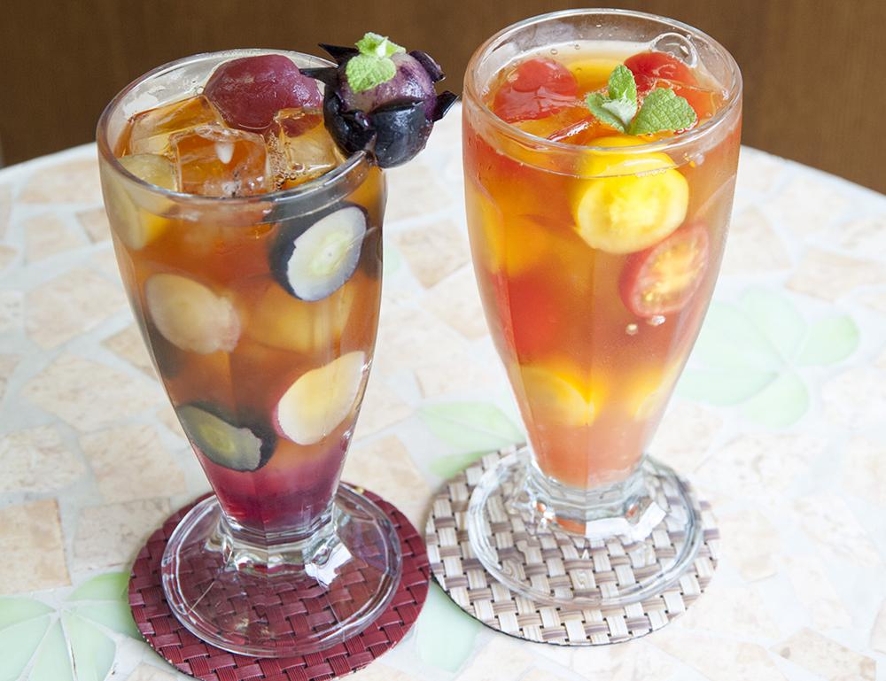 【山形・南陽市】旬のフルーツを使った果樹園ならではのフルーツティーのお茶会♪ファ...