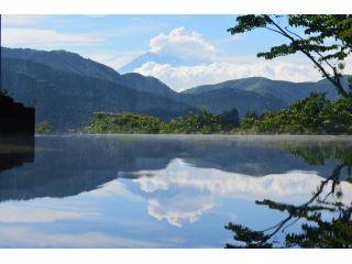 芦ノ湖と富士山を望む絶景温泉♪
