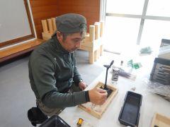 毛鉤教室(不定期)。時々開催。午前中、自分で作った毛鉤で午後は釣をします♪
