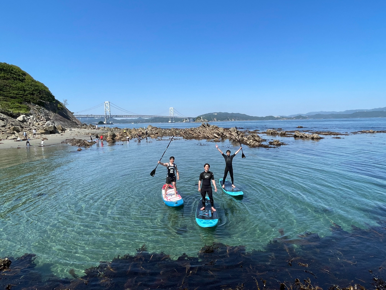 徳島の玄関口!綺麗な鳴門の海でSUP体験