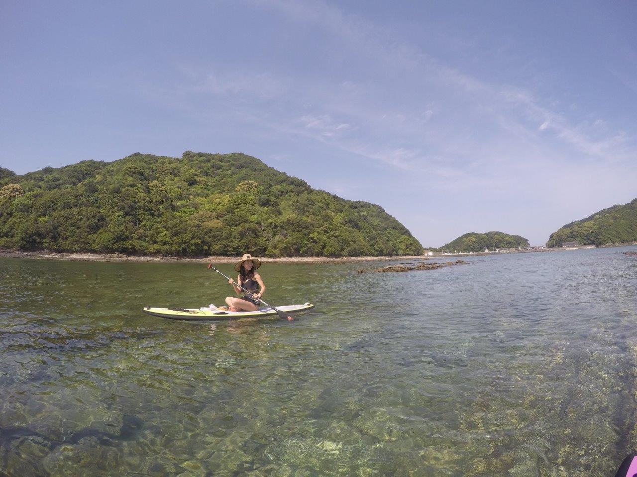 【SUPクルージング】初心者やお子様も安心して楽しめる☆穏やかな海をサップボード...