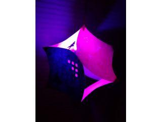 和紙で作る灯り