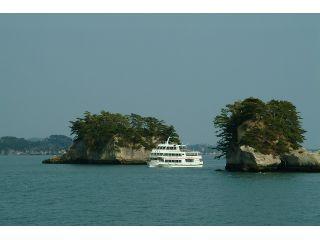 芭蕉コース特有の名勝の島々を間近に!