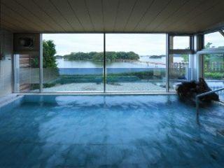 松島の絶景が一望できる大浴場