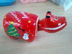 クリスマスバージョン♪***絵の具は6色ご用意しております。