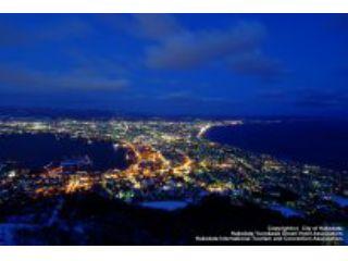 函館山夜景観賞1時間30分コース(湯川発着コース)