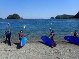 【三重・紀北町】大自然の中で半日SUP体験ツアー(無人の浜でティータイム付き♪♪)