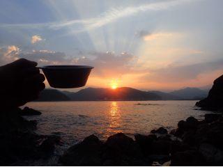 【三重・紀北町】夕日の中を漕ぐサンセットカヤック体験ツアー♪