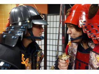 JR山手線「渋谷駅」から車で約5分。扉を開けたとたん、戦国時代にタイムスリップ!