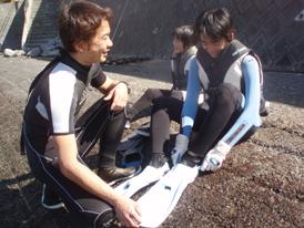 【初心者向け】スノーケリング教室
