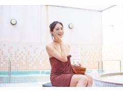 露天風呂では泥パックの無料体験をお楽しみいただけます