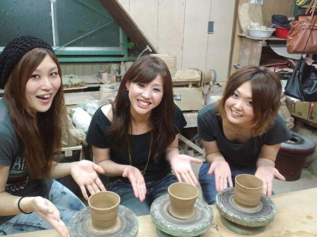 【手びねり体験】徳島で大谷焼の作陶をしよう!時間制限なし★納得いくまで自分の作品...