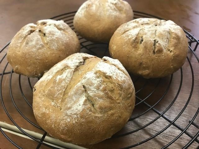 【パン作り体験:10時~14時】脇町産の自家製小麦を使用☆こねこね♪手ごねパン教...
