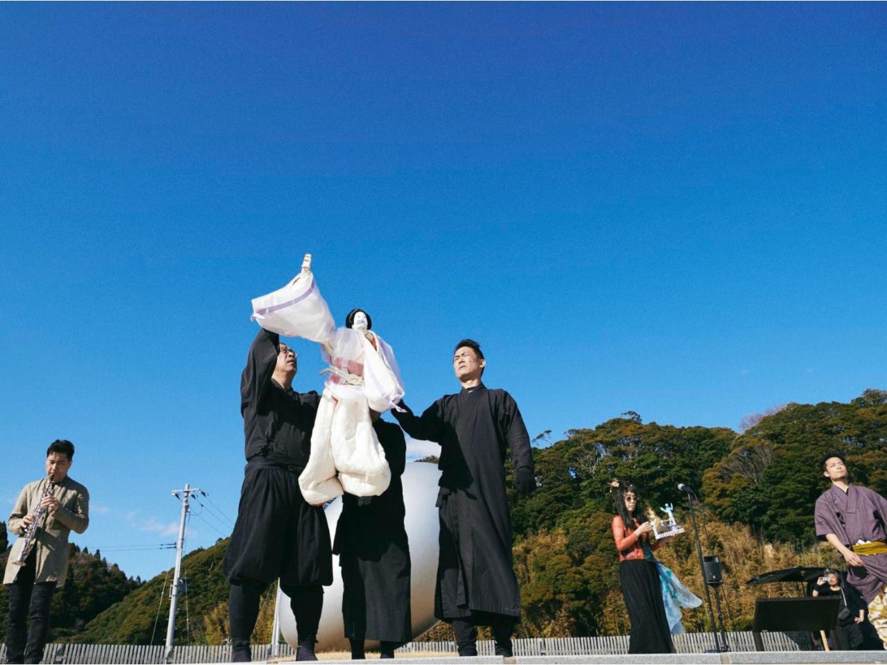 True Life 浄瑠璃人形と音楽のコラボレーション