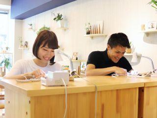 【カップルに大好評】オシャレな街、横浜元町でシルバーペアリングの手作り体験♪【元町・中華街駅 徒歩1分】