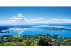 大根島 全景 写真