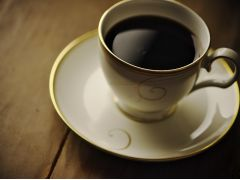 コーヒーでほっと一息…