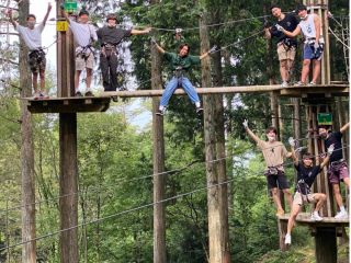 【8名様以上専用】子供から大人まで夢中になれる樹上10mの大冒険!〜アドベンチャーコース〜 \ファミリー・女性・カップルに大人気/