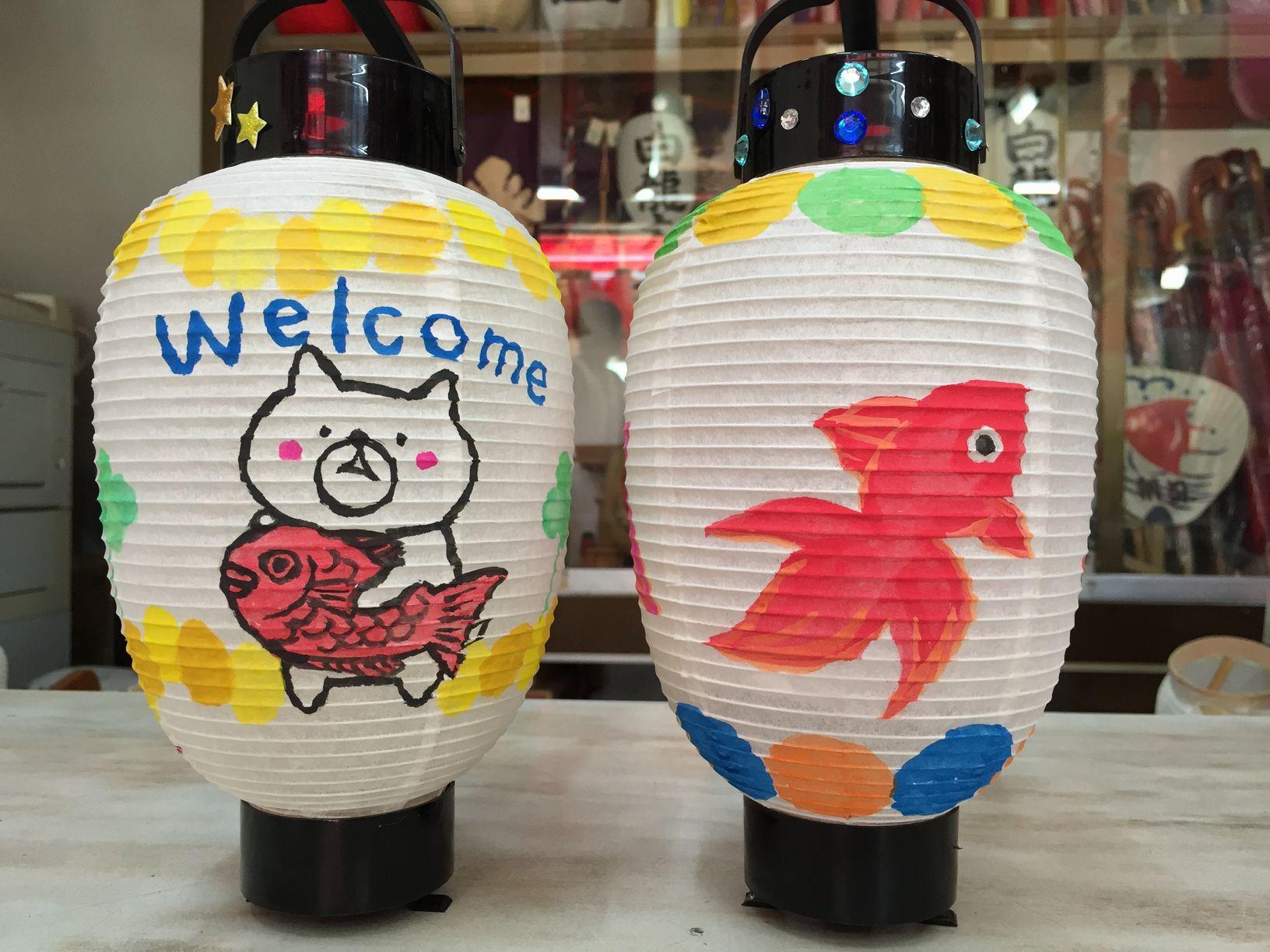 【和歌山市駅より徒歩10分♪和歌山城からも近くお気軽体験はいかが★】ちょうちん絵...