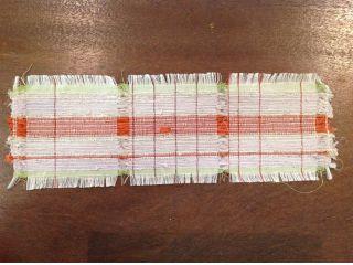 一度に3枚織れます。