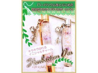 《手ぶらでOK♪》ハーバリウムボールペン2本セット★3850円