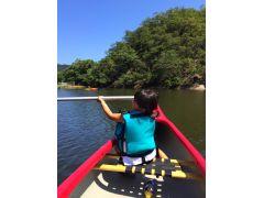 幼児の方は無料です。カナディアンカヌーや二人乗りカヤックで保護者の方と一緒にお楽しみください。