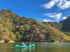 豊かな自然に包まれた翡翠(カワセミ)の池