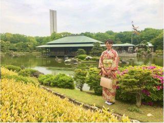 【大阪/大仙公園・着物レンタル】やまとなでしこ1日体験♪お好きなお着物をお選び頂けます! 最大7時間レンタル可能!