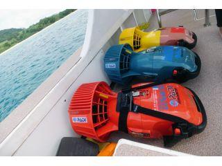 本格的な水中スクーターで石垣島の海を大冒険!