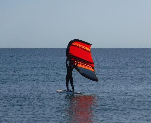 【徳島×WING SURF体験】★初心者おすすめ★風を感じてみませんか♪