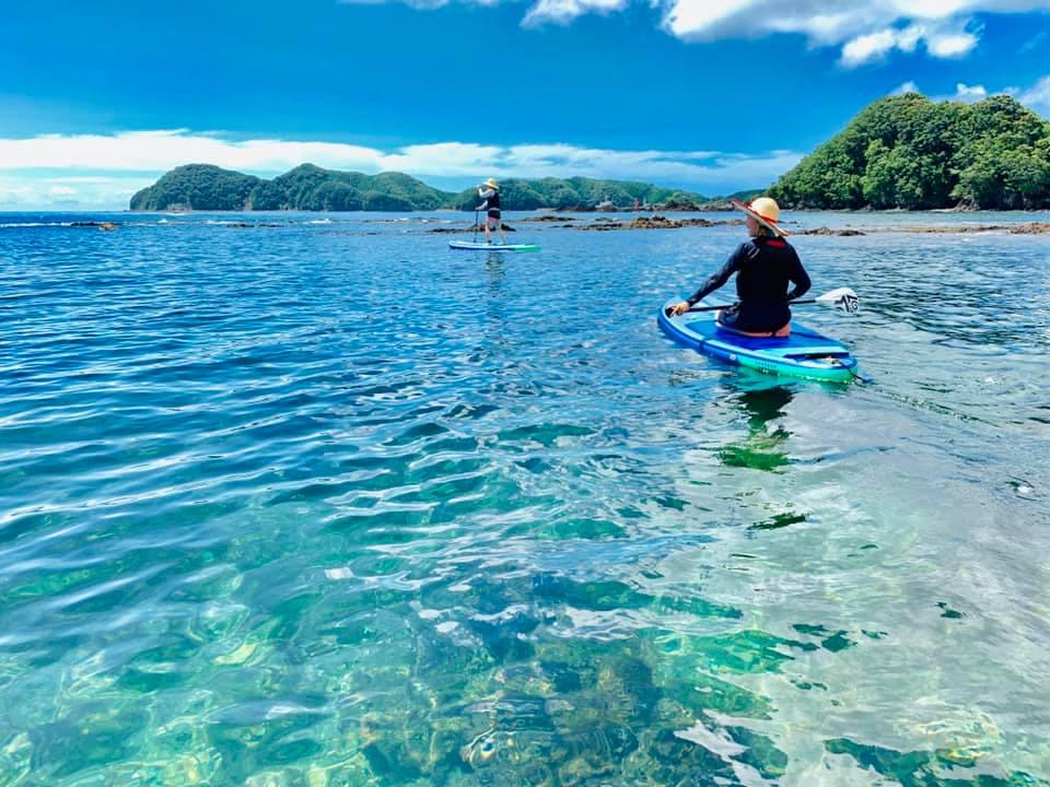 【徳島・四国】【お子様OK】透明度抜群の海でゆったりSUPクルージング